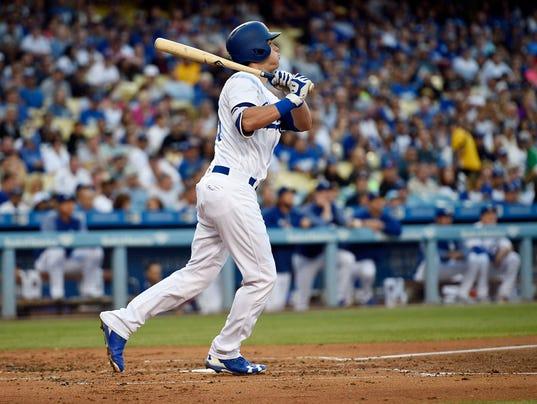 MLB: Colorado Rockies at Los Angeles Dodgers