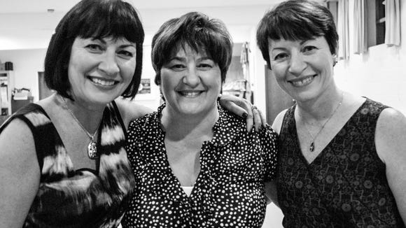 With their Irish eyes a smiling, the Cooper sisters who also have three brothers and are Chili natives always wanted to learn Irish dancing. Now they are back to their hometown to do just that. Jeanne Stevens, Marianne Tucker, and Patti Zimmer.