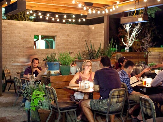 Dim lighting, approachable food and heady cocktails make Windsor an intoxicating date spot.