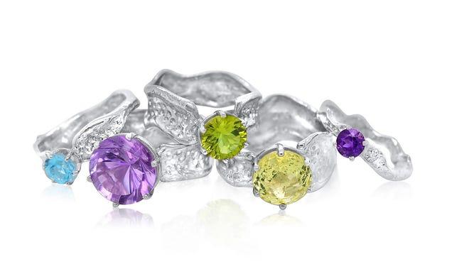 Jewelry by Kristen Baird.