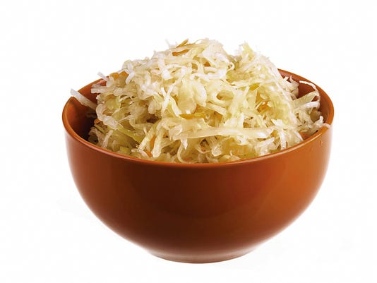 Photo courtesy thinkstockphotos.com   Sauerkraut contains bacteria that is good for digestive tracts.