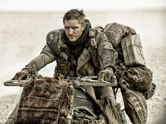 Tom Hardy as Max Rockatansky in Warner Bros. Pictures'