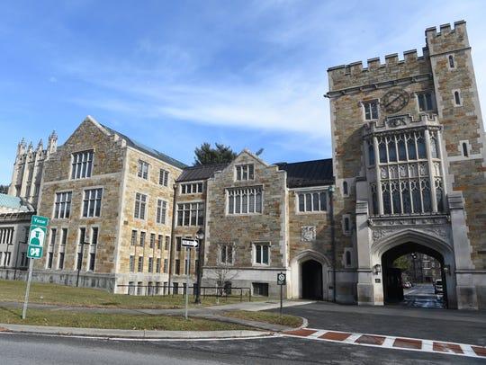 Vassar College in the Town of Poughkeepsie.
