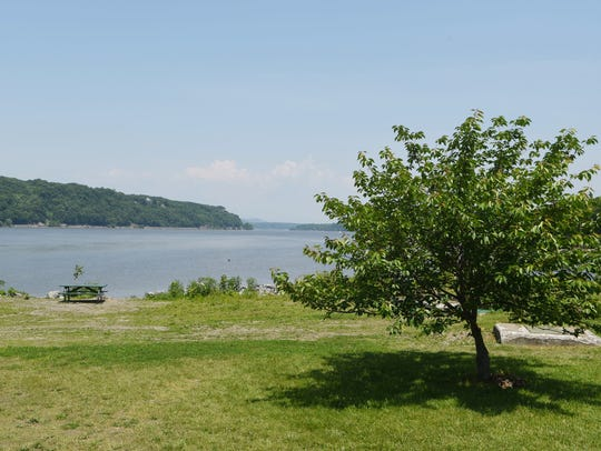 A view of Quiet Cove Riverfront Park in the Town of