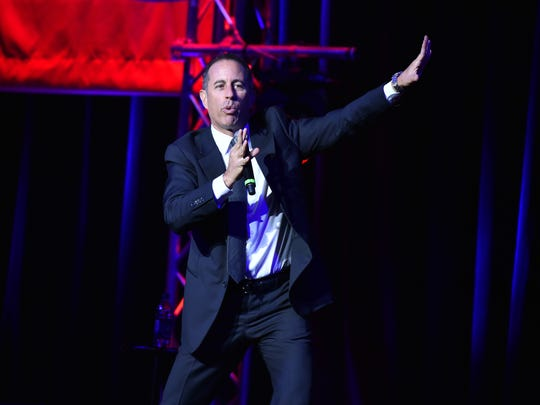 Jerry Seinfeld, pictured in 2016, performs at the Borgata in August.