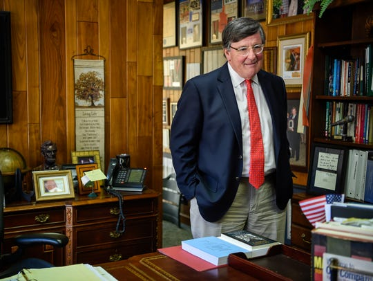 Tennessee House Minority Leader Craig Fitzhugh comes