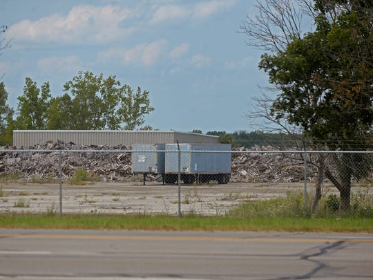 The former NATCO factory building on Richmond's far-west side was torn down in 2010.