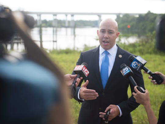 U.S. Rep. Brian Mast introduces a new piece of legislation