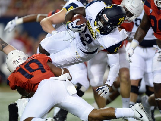 NCAA Football: Northern Arizona at Arizona