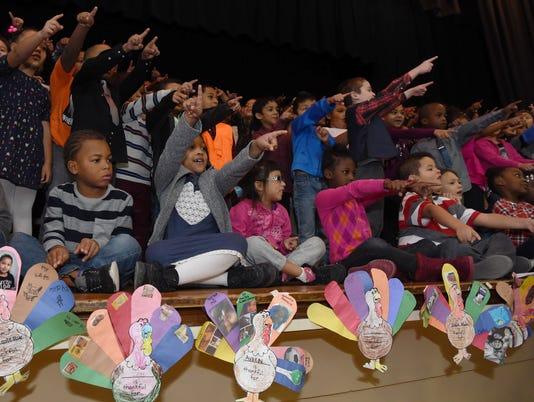 Morse Elementary Thanksgiving Family Celebration