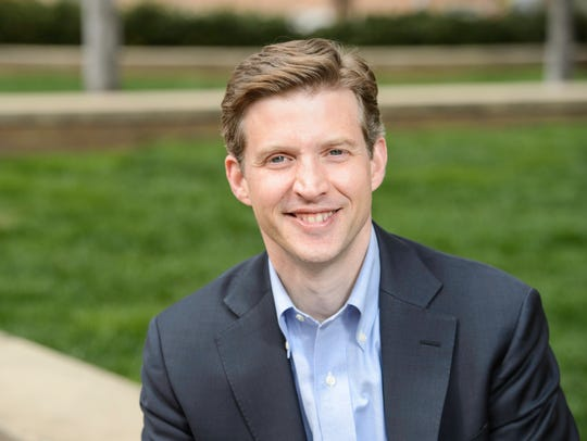 Alec Ross, a Democratic candidate for governor in the