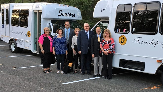 In mid-September, Monroe welcomed two new medical transport buses to the township fleet as a result of a successful grant application with NJ Transit.