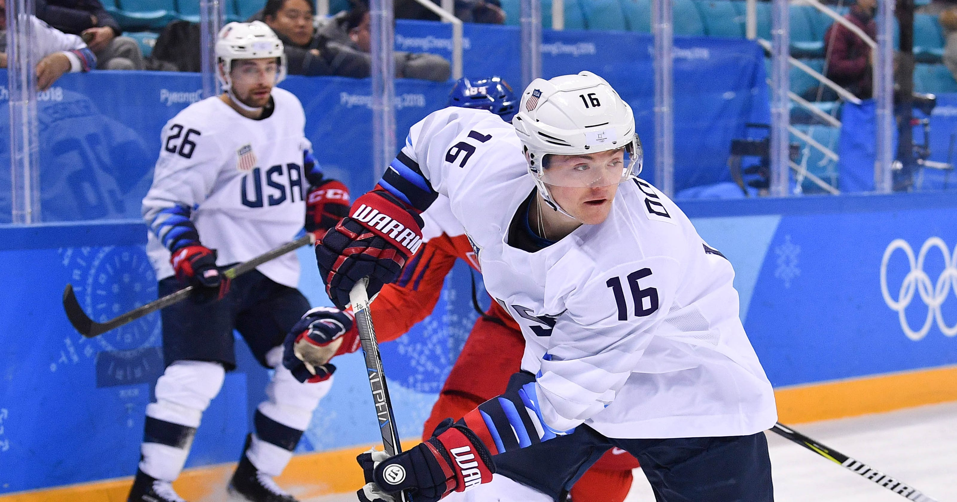 3e2c10bfa Bruins sign U.S. Olympic star Ryan Donato