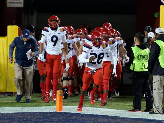 Dec 27, 2017; Santa Clara, CA, USA; Arizona Wildcats