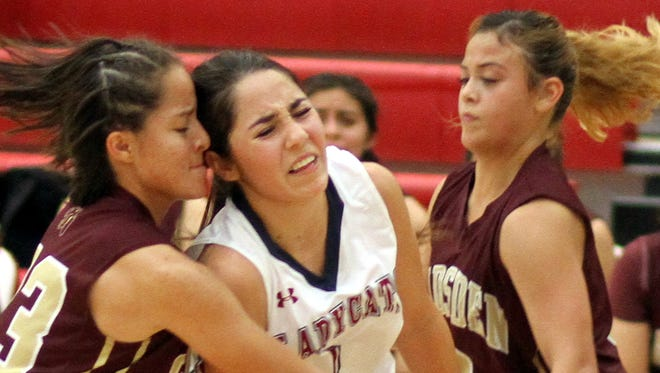 Senior Lady Cat point guard Valerie Lopez can expect double teaming as Deming's leading scorer.