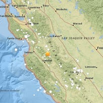 Magnitude 4.6 earthquake recorded outside Gonzales