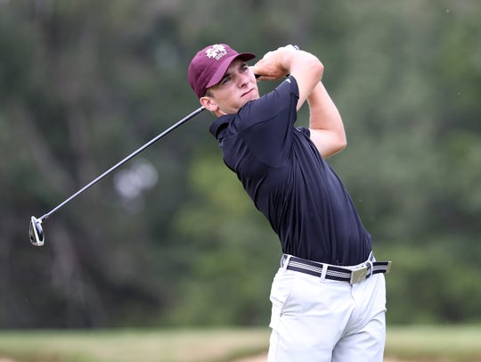 Mississippi State's Ross Bell is in the Sanderson Farms