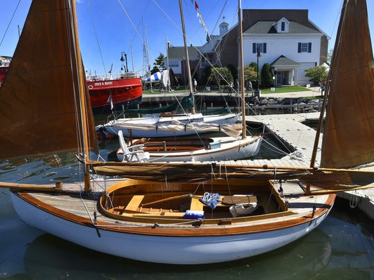 The homebuilt 1984 William Garden Eel Canoe Yawl owned