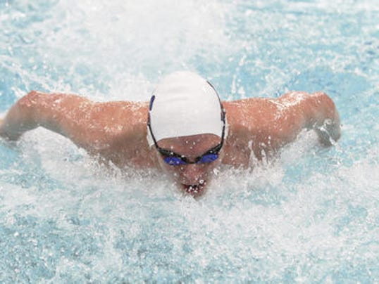 2013-14 Pittsford freestyle swimmer PJ Ransford.jpg