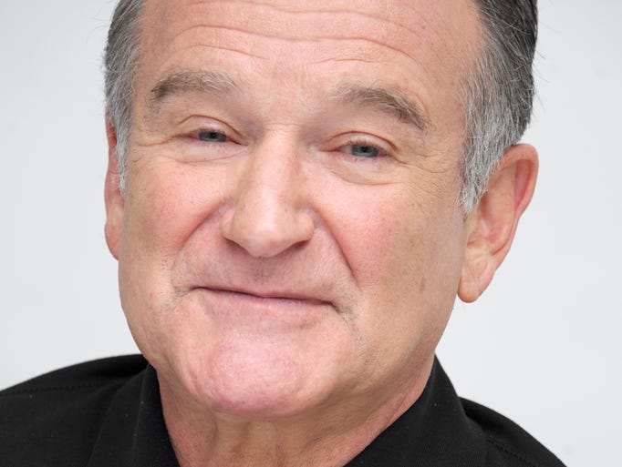 Robin Williams at a press conference for 'The Crazy Ones' on Oct. 8, 2013 in Beverly Hills, Calif.