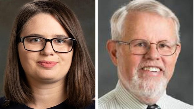 Incumbent Demoratic state Reps. Cassandra Levesque and Matthew Towne are seeking reelection in 2020 to their District 4 seats reprensenting Barrington.