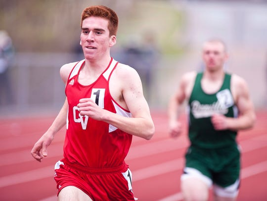 Champlain Valley's Tyler Marshall leads eventual runner-up