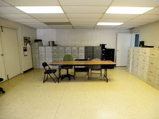 The room in Clarence where the city council meeting