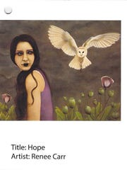 Hope by Renee Carr, a submission in a 2015 heroin and opioid awareness art contest sponsored by the U.S. Drug Enforcement Administration and addiction prevention advocates