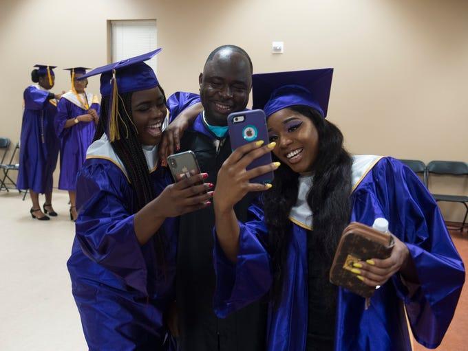 Fort Pierce Central High School graduate Wilnide Francois