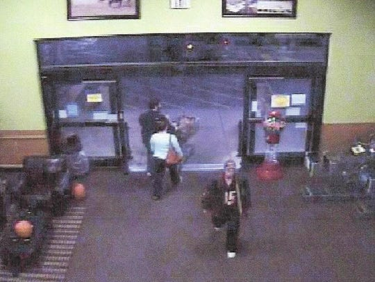 This person is accused of robbing someone in a Liberty