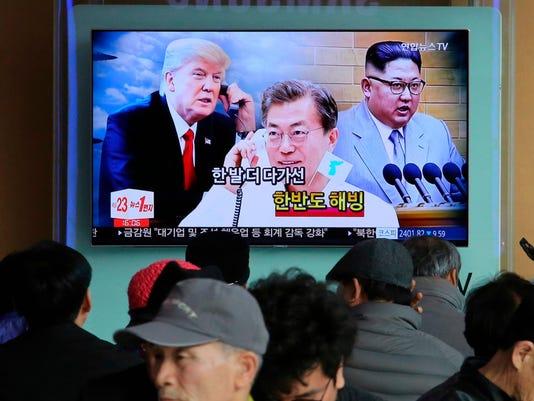 Trump Kim Summit South Korea