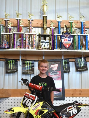 Seven-year-old Reed Bodie started racing motocross at age 4 and has qualified for the biggest amateur race in the world with riders across all 50 states and several countries.