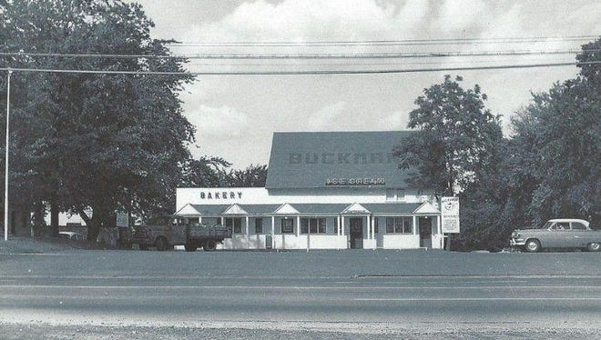 This circa 1956 photo shows Buckman's, a well-loved dairy in Greece.