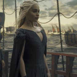 Daenerys Targaryen (Emilia Clarke) was heading toward Westeros in the Season 6 finale of HBO's 'Game of Thrones.'