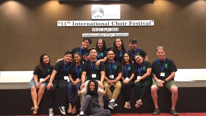 The University of Guam Latte Tones won gold at the Grand Prix Choir Festival in Pattaya, Thailand at the 11th International Choir Festival held July 19-21.