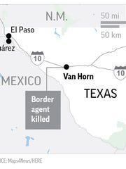 A Border Patrol agent was killed in a Nov. 18 incident