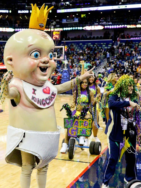 All Star Game King Cake Baby
