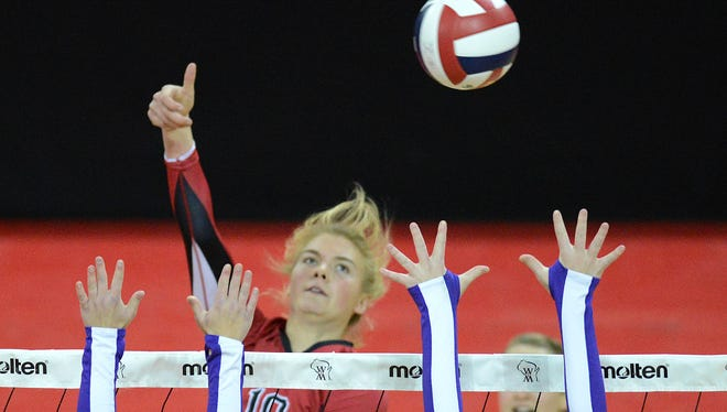 University of Wisconsin recruit Mariah Whalen has helped Wausau Newman win the WIAA Division 4 girls state volleyball title the previous three years.
