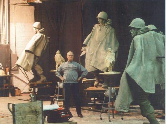 Celebrating Barre sculptor