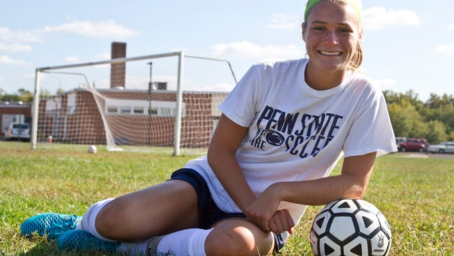 Howell soccer player Rebecca Hamilton.