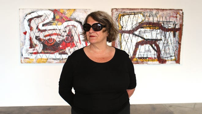 Artist Nancy Mitchnick, who is curating a series built on her  experience of the Cass Corridor. It will appear at the Simone DeSousa Gallery.
