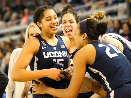 USP NCAA WOMENS BASKETBALL: CONNECTICUT AT EAST CA S BKW