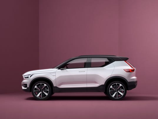 Volvo Shows Shapely New Compact Suv Sedan