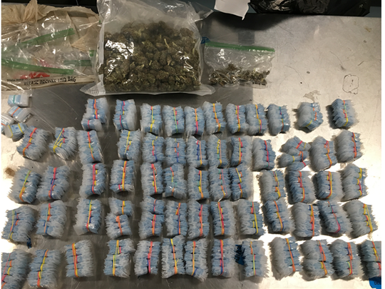 Police seized 29 grams of heroin spread out in more than 4,100 wax bags, 276 grams of marijuana and drug paraphernalia from a Magnolia home Tuesday.