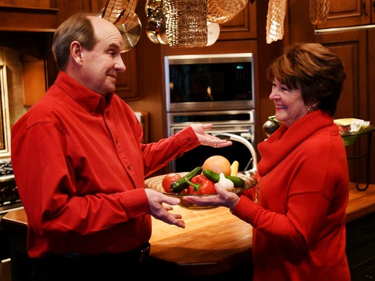 As an  an avid cook, Linda Kinnebrew worked to find a balance with menu choices that still deliver great taste, but are healthier options, such as grilled meats and fish, after her husband, John, underwent bypass surgery.