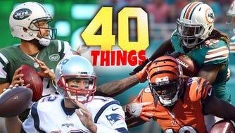 40 things we learned in Week 7 of the 2016 NFL season.
