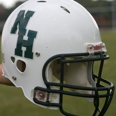 West Allis Hale varsity football helmet