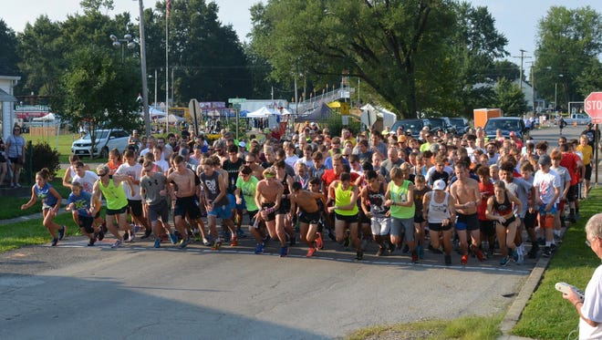 241 runners from across the state took to the streets pf Baltimore for the 27th annual Baltimore Festival 5K on Saturday.