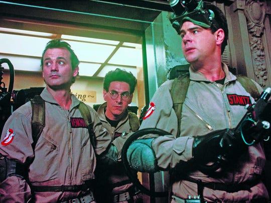Venkman (Bill Murray, left), Spengler (Harold Ramis)