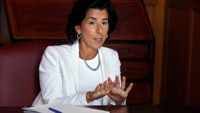 "Gov. Gina Raimondo's proposed cut in the ""Distressed Communities Relief Program"" is in limbo."